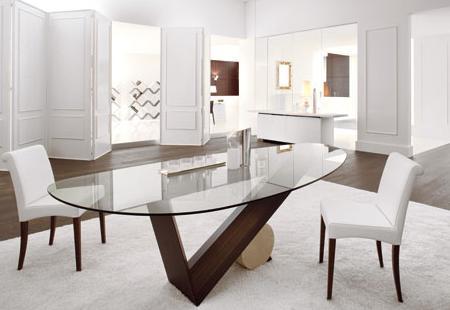 Las mesas de comedor más innovadoras y chics, de Cattelan Italia ...