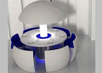 mesas y sillas del futuro