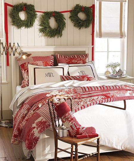 Decoración de Navidad, idea original para tu dormitorio!