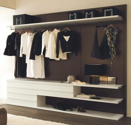Vestidores de diseño para tu dormitorio