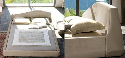 dormitorio de diseño de Bonaldo
