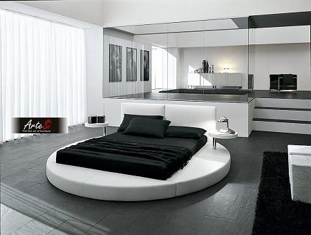 Dormitorios con cama redonda
