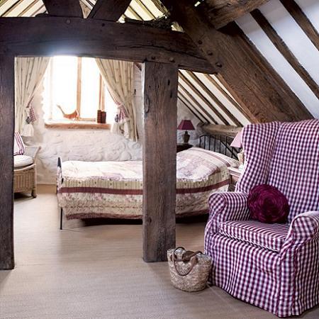 Dormitorio en el campo