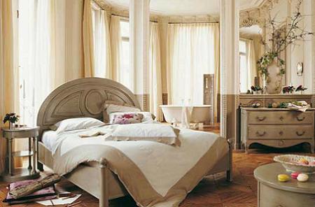 Dormitorio clásico de Roche Bobois
