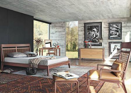 Dormitorio colonial de Roche Bobois