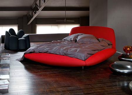 Dormitorio contemporáneo de Roche Bobois