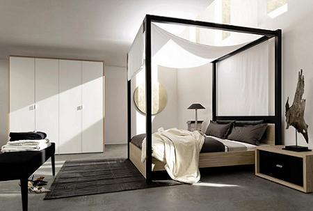 Dormitorios con dosel moderno
