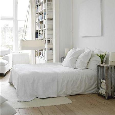 Dormitorio escandinavo