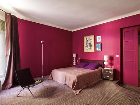 Dormitorio fucsia