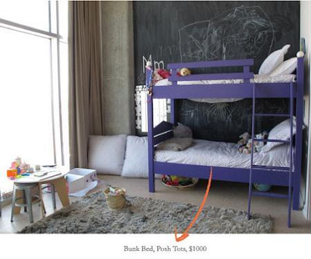 Dormitorio de los hijos de Gwyneth Paltrow