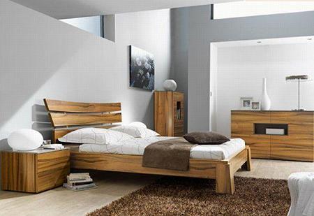 Dormitorios de madera de diseño