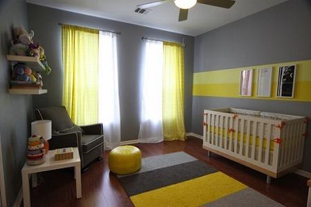 Dormitorio masculino bebé