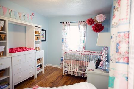 Dormitorio de niña bebé
