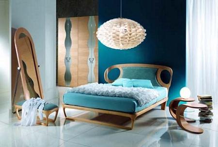 Dormitorio original de diseño