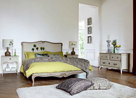 Dormitorio vintage de Roche Bobois