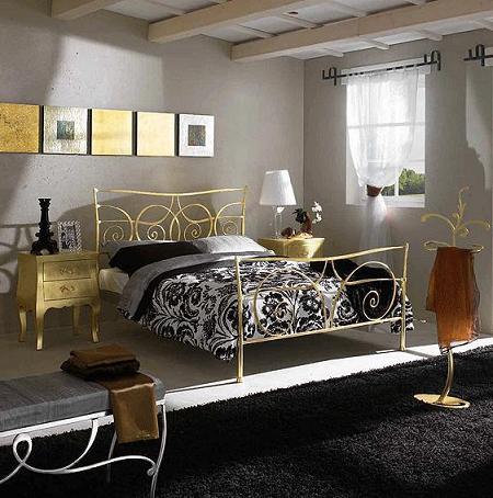 Decoracion dormitorios: camas de forja