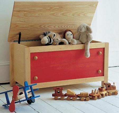 Guardar juguetes