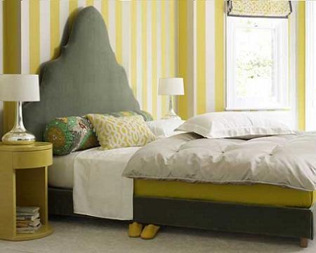 Habitación de amarillo