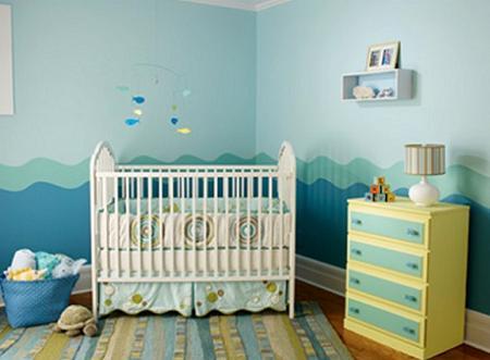 Habitaci n de beb para ni o decoraci n for Habitacion completa bebe boy