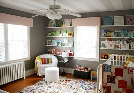 Habitación de colores para bebé