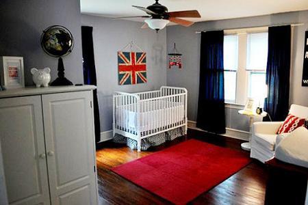 Habitación inglesa para bebé