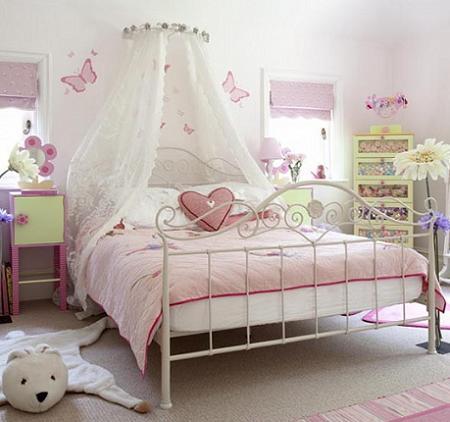 Habitación para niña de princesa