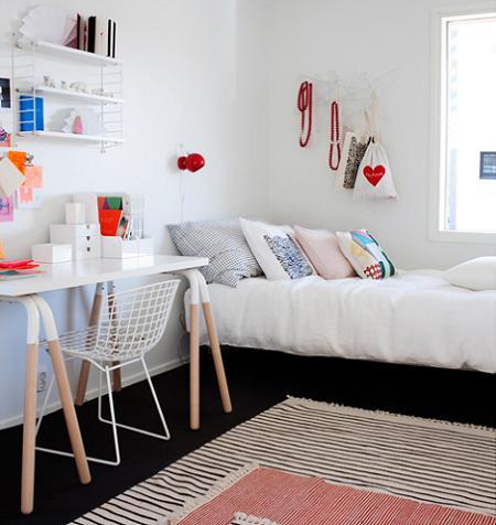 Habitación niña de estilo nórdico