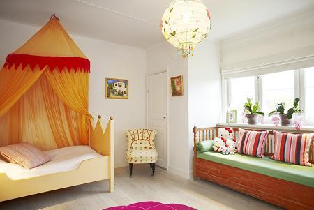 Habitación niña de princesa