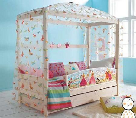 Ideas para decorar habitaciones con dosel
