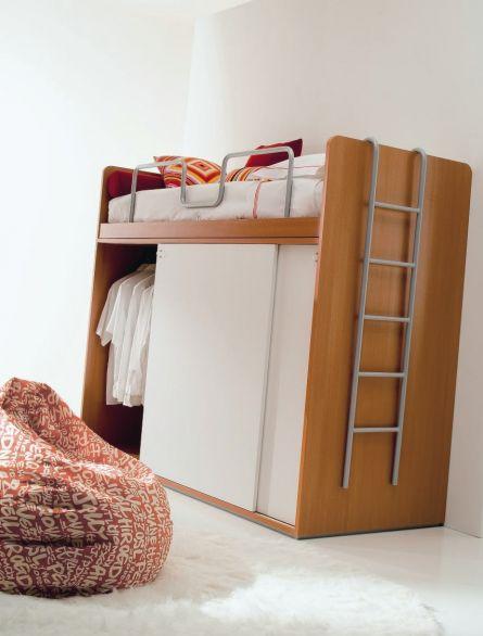 Dormitorios infantiles: La cama encima del armario