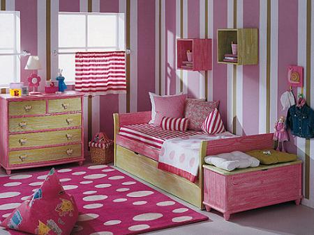 Dormitorio infantil de Indema Juvenil