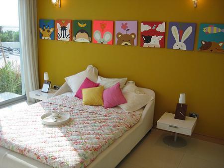Pintar la habitacion infantil de amarillo