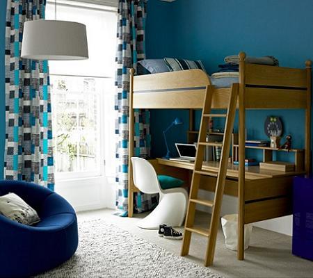 Pintar la habitacion infantil de azul