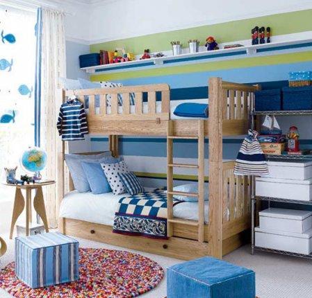 Pintar la habitacion infantil de rayas