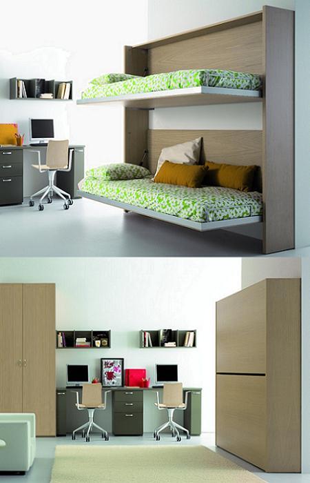 Dormitorios y camas abatibles