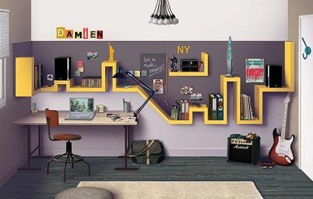 10 habitaciones juveniles