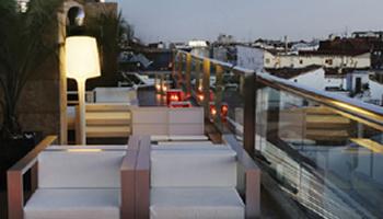 terraza urbana