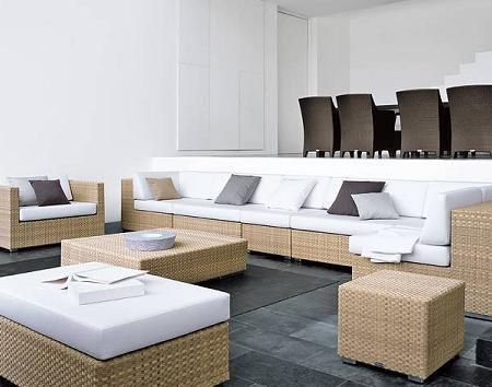 Muebles de jardín de diseño, de DEDON
