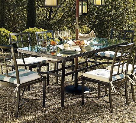 Muebles de jardín: comedores (mesas y sillas) – Decoración