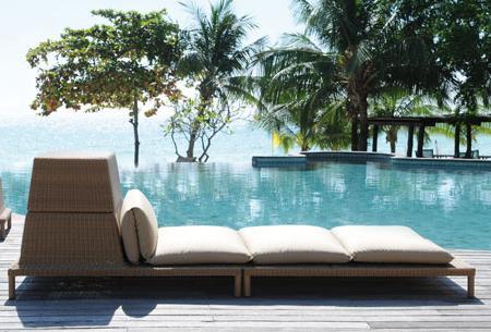 Tumbona de diseño, para decorar tu jardín o terraza