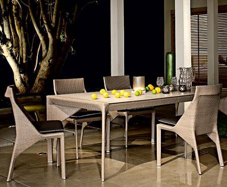 mesa de jardín de Roche Bobois