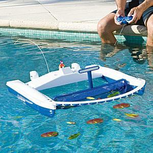 limpiador de piscina por control remoto
