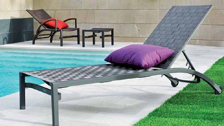 20 tumbonas de diseño para tu jardín o terraza