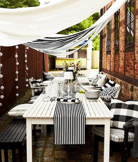 Mesa de verano Ikea