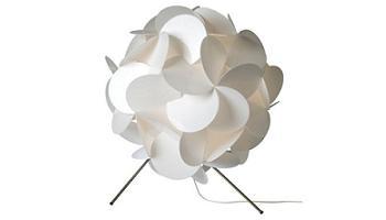 lámpara de pie kanappa klover de Ikea