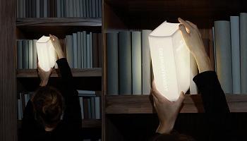 Libro lámpara