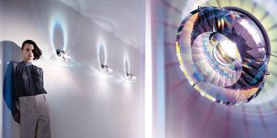 lámpara de pared Swarovski
