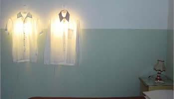 lampara camisa