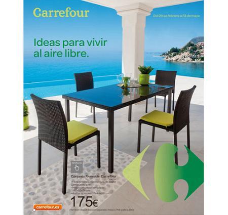 Catálogo de jardín Carrefour