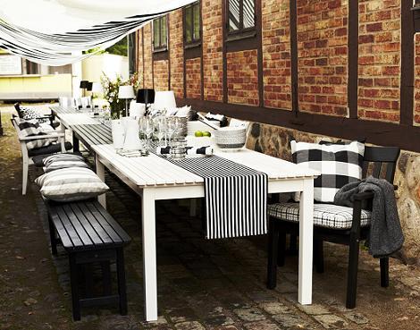 Muebles Ikea de jardín